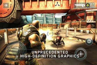 Shadow Gun Les plus beaux jeux de lAppStore en promotion à 0,79€