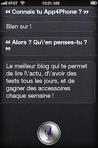 SiriHumourApp4Phone Faire dire à Siri ce que lon souhaite ? Cest possible !