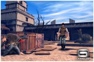 Six Guns 3 300x199 Six Guns, la guerre Cowboys vs. Zombies débarque bientôt sur lAppStore