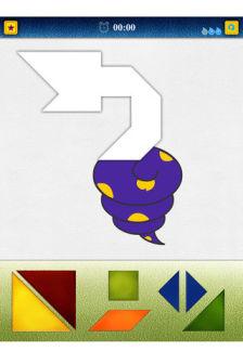 Tangram puzzle 10 Les bons plans de lApp Store ce dimanche 6 novembre 2011