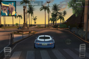 Test Gangstar Rio 01 300x200 Test de Gangstar Rio: City of Saints, le GTA de lAppstore par Gameloft (5,49€)