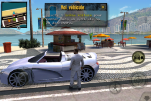 Test Gangstar Rio 05 300x200 Test de Gangstar Rio: City of Saints, le GTA de lAppstore par Gameloft (5,49€)