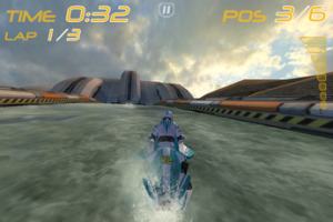 Test RiptideGP 04 300x200 Test de Riptide GP: votre iPhone sait tout faire, même du jet ski! (2,39€)