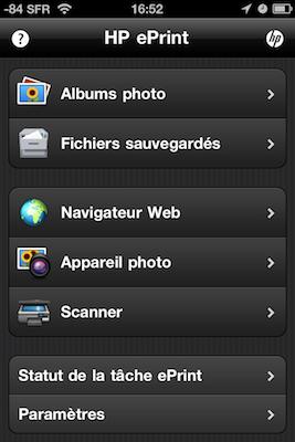 TestImprimanteHP003 Test de limprimante tout en un HP Photosmart 7510e, AirPrint sur iPhone