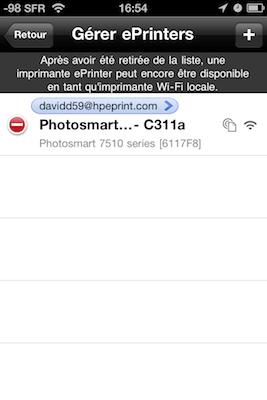 TestImprimanteHP008 Test de limprimante tout en un HP Photosmart 7510e, AirPrint sur iPhone