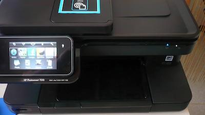 TestImprimanteHP013 Test de limprimante tout en un HP Photosmart 7510e, AirPrint sur iPhone