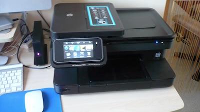 TestImprimanteHP015 Test de limprimante tout en un HP Photosmart 7510e, AirPrint sur iPhone