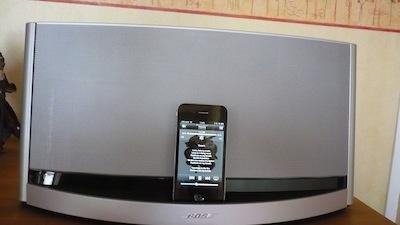 TestSounDock10 012 Test de lenceinte SoundDock 10 de Bose (600€)