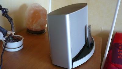 TestSounDock10 013 Test de lenceinte SoundDock 10 de Bose (600€)