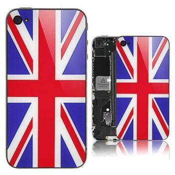 Union Jack iPhone 4S Envie dun iPhone pas comme les autres ? Essayez les nouvelles façades arrières pour iPhone 4 et 4S