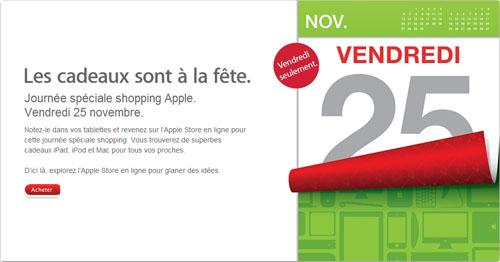 blackfriday Apple prépare ses soldes pour ce vendredi !