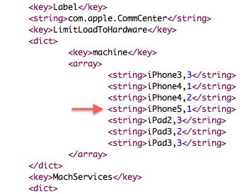 code iOS 5.1 png La Beta diOS 5.1 cache 2 nouveaux iPad (3) et un nouvel iPhone (5)