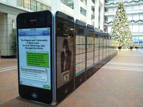 expo jobs 1 Une exposition des brevets de Steve Jobs
