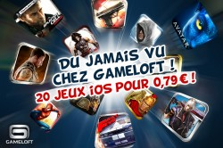 gameloft promo e1321899588719 20 jeux à 0,79€ : Gameloft ou Noël avant lheure!