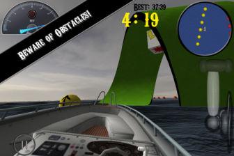 iBoat racer Les bons plans de lApp Store ce samedi 12 novembre 2011