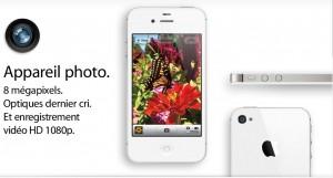 iPhone 4S photo Tiercé gagnant pour liPhone à Noël