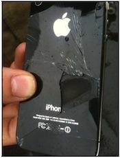 iPhone4 vol1 Un iPhone au 7e ciel = brûlures assurées !
