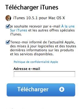 itunes 10.5.1 iTunes 10.5.1 montre le bout de ses octets !