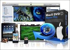 maxDvdPro MacX DVD Rip Pro (Mac) est gratuit, encore 300 licences à récupérer