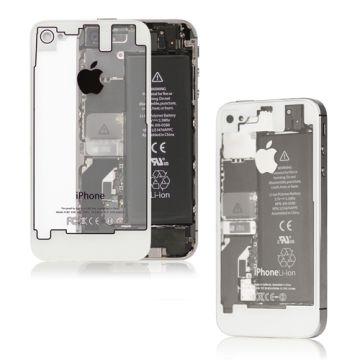 motif transparent Envie dun iPhone pas comme les autres ? Essayez les nouvelles façades arrières pour iPhone 4 et 4S