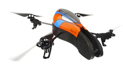 parrot ar.drone color18 App4Phone Teste lAr Drone   Le drone de Parrot controlé par iDevice (299€)
