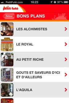 petit fute 1 Petit futé bons plans (Gratuit)   Les célèbres guides sessayent à lApp Store !