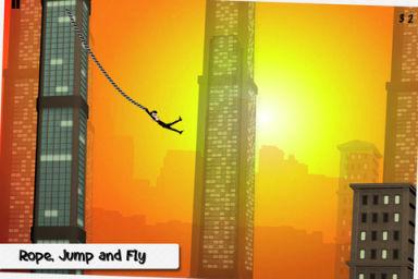 rope n fly 1 Test de Rope n Fly : Lamusement à portée de doigts (0,79€)