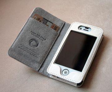 verus wallet De nouveaux Étuis en cuirs haute qualité pour iPhone 4 et 4S (29,90€)