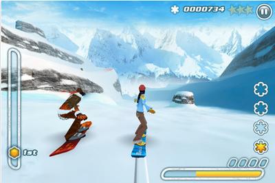 12 Test de Snowboard Hero : Devenez le roi de la glisse sur iPhone ! (2,39 €)