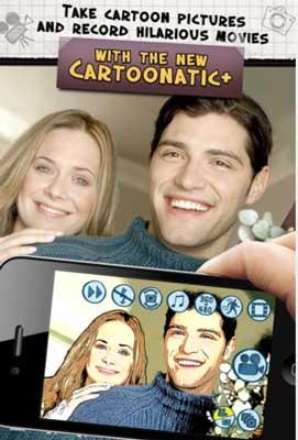 14 Test de Cartoonatic + : créez des photos et vidéos amusantes (0,79 €)