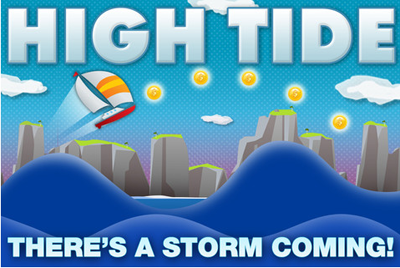 16 Test de High Tide : petit jeu d'arcade (0,79 €)