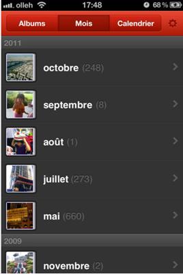 2 Test de PhotoCal : Lart de retrouver vos photos par date (gratuit)