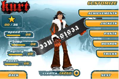 22 Test de Snowboard Hero : Devenez le roi de la glisse sur iPhone ! (2,39 €)