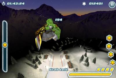 32 Test de Snowboard Hero : Devenez le roi de la glisse sur iPhone ! (2,39 €)