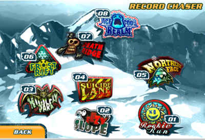 41 Test de Snowboard Hero : Devenez le roi de la glisse sur iPhone ! (2,39 €)