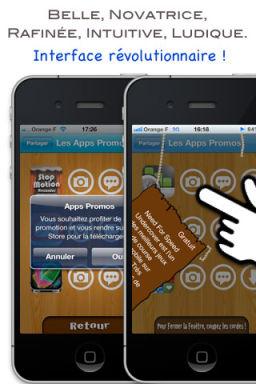 App Promo 2 Apps Promo: Une nouvelle App de bons plans au design sympathique (Gratuit)