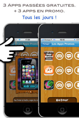 App promo 1 Apps Promo: Une nouvelle App de bons plans au design sympathique (Gratuit)
