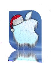 Apple Noel Des pommes au pied du sapin?