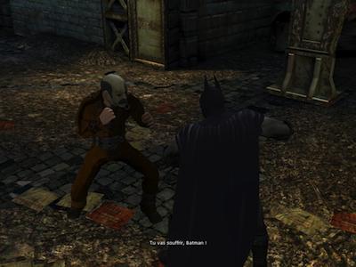 Batman Combat Test : Batman Arkham City Lockdown (4,99€) sur iPhone et iPad