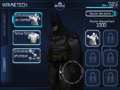 Batman améliorations Test : Batman Arkham City Lockdown (4,99€) sur iPhone et iPad
