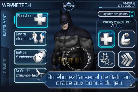 Batman2 Batman Arkham City (4,99€) disponible : Gotham City rien que pour vous sur iPhone et iPad