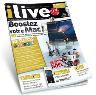 COUV ili4 Concours : 3 exemplaires du n°4 et 1 an dabonnement au magazine iLive à gagner (44€) !