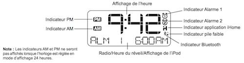 Capture d'écran 2011 12 15 à 19.44.03 Test de la station daccueil iHome iA100 pour iPhone et iPad (199€)