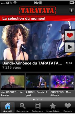 Capture1 Test de Taratata : visionnez l'intégralité des émissions depuis 1993 (2,99€)