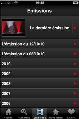 Capture5 Test de Taratata : visionnez l'intégralité des émissions depuis 1993 (2,99€)