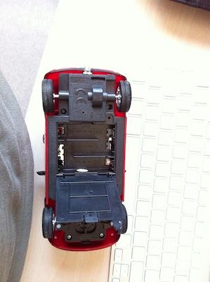 CcrsMiniCooperBeewi 013 Concours : Une Mini Cooper télécommandée de BeeWi à gagner (49,90€)