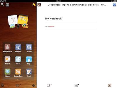 CcrsMyNoteBook 002 Test de My Notebook pour iPad : une application incroyable !