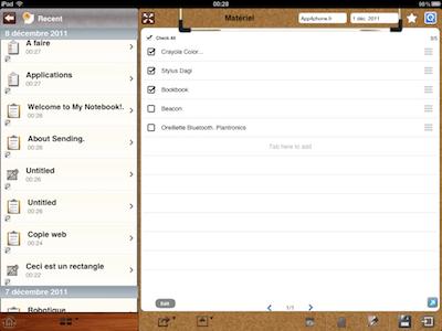 CcrsMyNoteBook 016 Test de My Notebook pour iPad : une application incroyable !