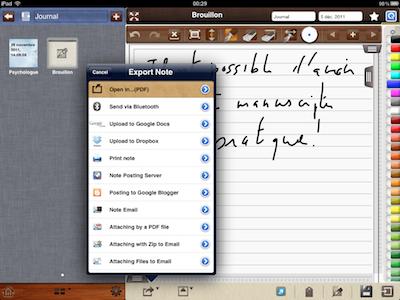 CcrsMyNoteBook 020 Test de My Notebook pour iPad : une application incroyable !