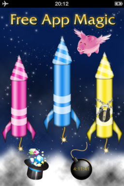 FreeAppMagic 2012 2 FreeAppMagic 2012 : 3 Applications temporairement gratuites chaque soir !